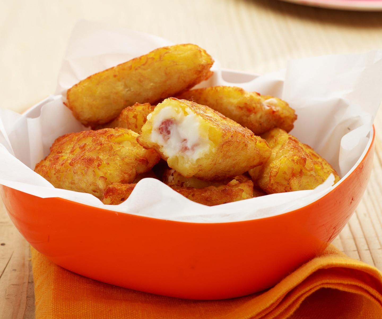 Croquette De Jambon Au Four bouchées de pommes de terre jambon mozzarella (05696) | livraison gratuite  | bofrost.fr